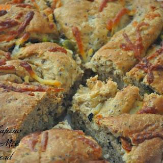Olive, Jalapeno & Cheese Granary Bread