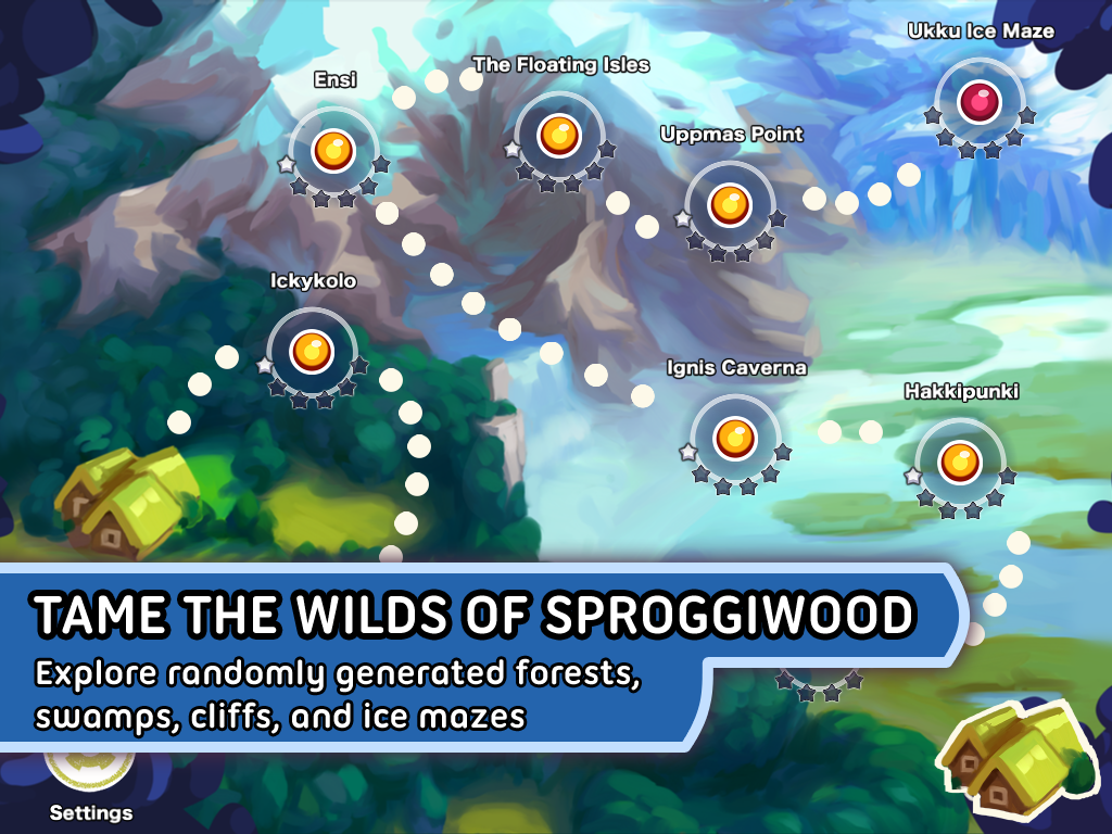 Sproggiwood- screenshot