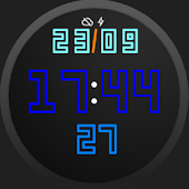 Multiple clocks watchface