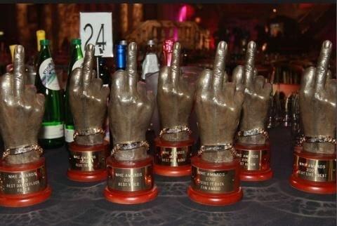 BTS NME trophy