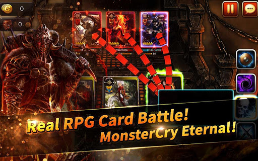 MonsterCry Eternal - Card Battle RPG 1.0.9.5 screenshots 1