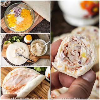 Turkey Ranch Roll Ups Recipe