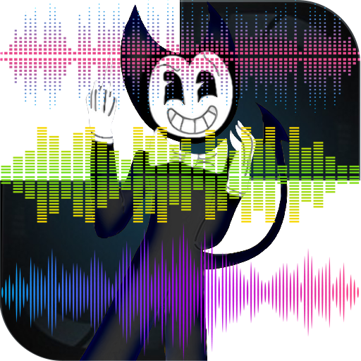 Bendy & The Ink Piano Tiles