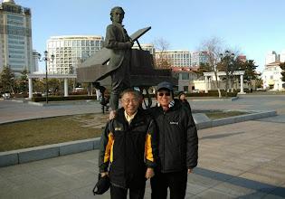 Photo: 俞川心將軍與蕭志洋董事長
