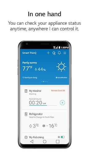 LG SmartThinQ 2.4.1102 screenshots 1