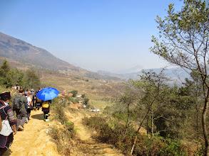 Photo: Let the trekking begin