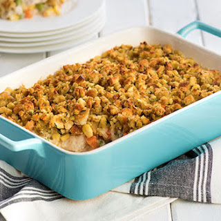 HEALTHY LIVING STOVE TOP Easy Chicken Casserole