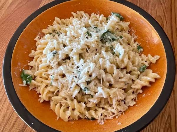 Pasta With Ricotta & Parmigiano