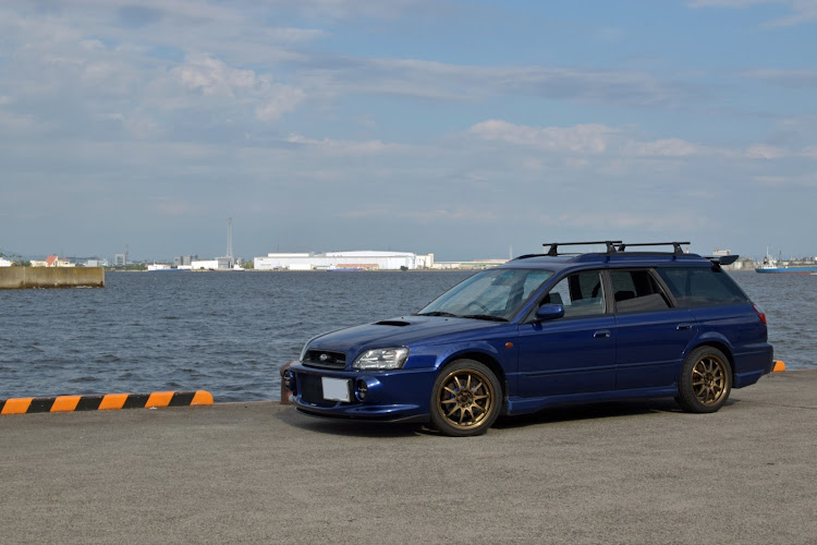 レガシィツーリングワゴン BH5の稲永埠頭,トミーカイラ,レガシィBE BHに関するカスタム&メンテナンスの投稿画像3枚目