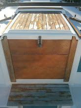 Photo: Pilgrim's original three companionway drop boards