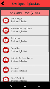 Enrique Iglesias Lyrics screenshot 1