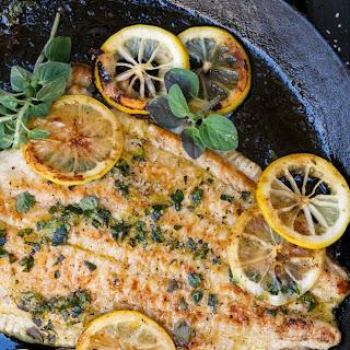 Greek-Style Flounder.