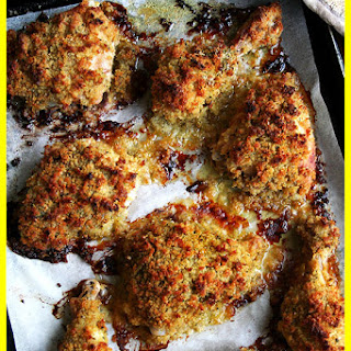 CRISPY MUSTARD CHICKEN