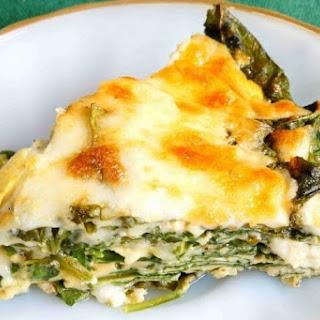 Crustless Spinach Cheese Pie Recipe
