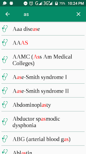 Medical Terminology A-Z - Offline (Free) 1.0 screenshots 2