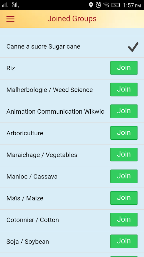 Wikwio Citizen Science App- screenshot