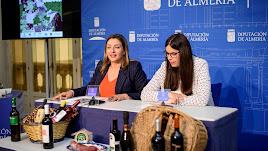 María López y Almudena Morales, en la presentación de la Feria.