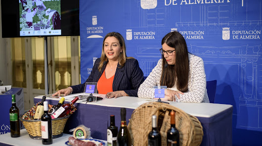 Catas y visitas a las bodegas, en la Feria del Vino de la Alpujarra