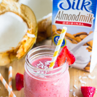 Strawberry Coconut Smoothie.