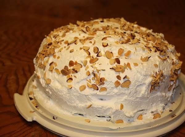 Ribbon Cake Recipe Joy Of Baking: Almond Joy Layer Cake Recipe