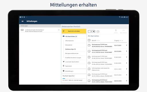 BW-Mobilbanking mit Smartphone und Tablet  screenshots 12