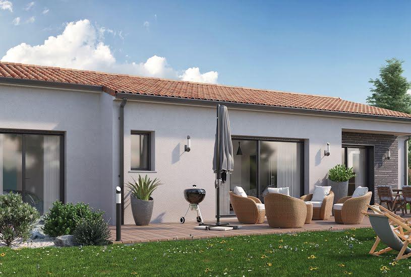 Vente Terrain + Maison - Terrain : 1900m² - Maison : 110m² à Poitiers (86000)