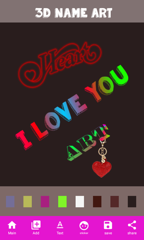3D Name Art Android Apps on Google Play