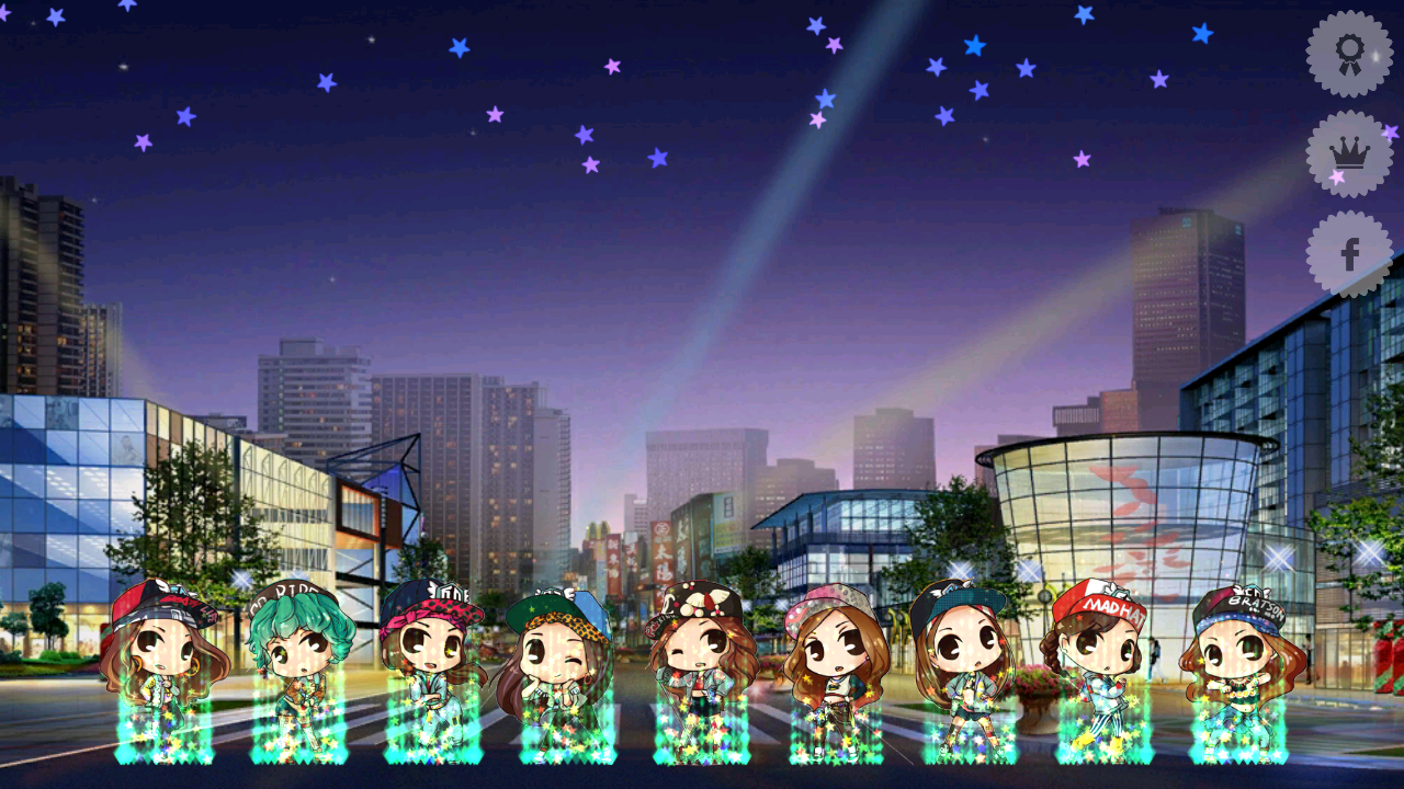A game for Girls Generation- screenshot
