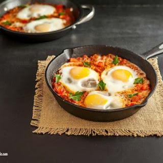 Low Carb Italian Eggs In Purgatory