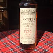 Aberfeldy 29yr 1974 Cooper's Choice 46%