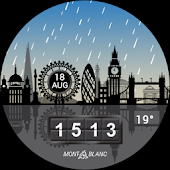 Montblanc Summit - London Watch Face