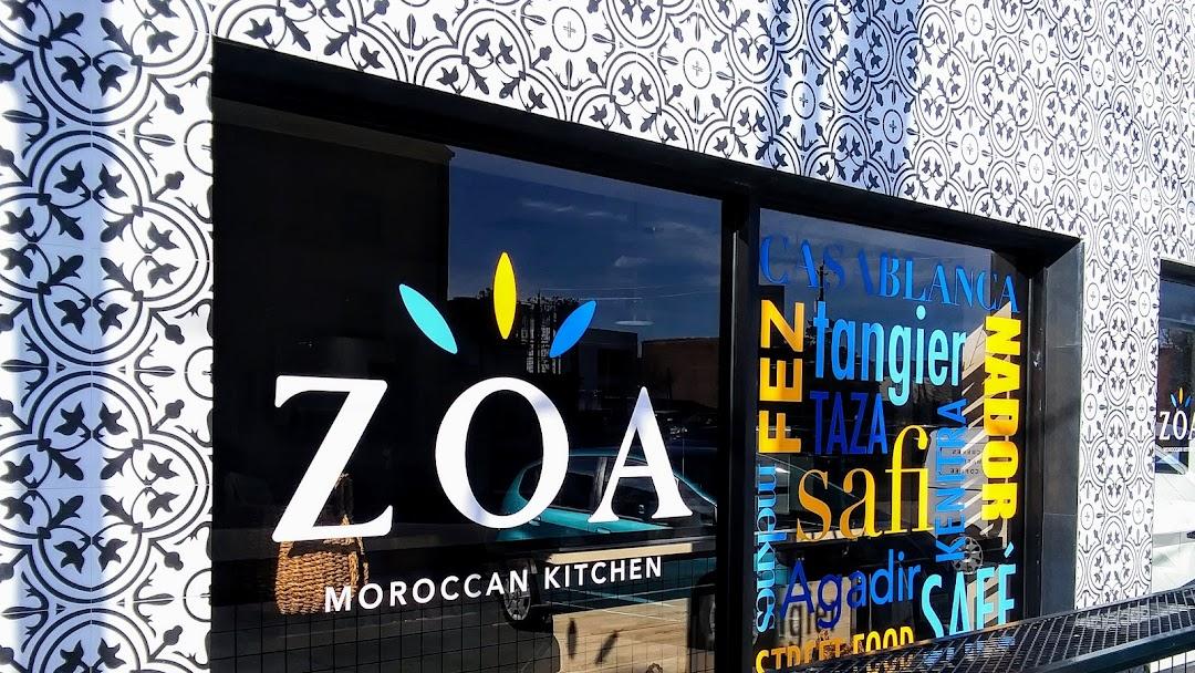 Zoa Moroccan Kitchen Moroccan Restaurant In Houston
