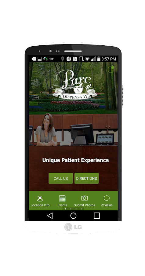 PARC Dispensary- screenshot