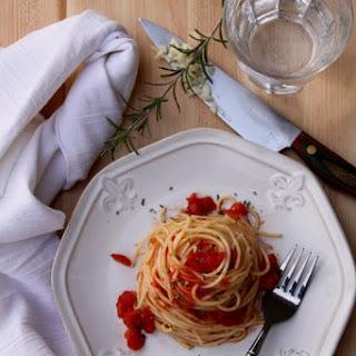 Spicy Rosemary Spaghetti Recipe