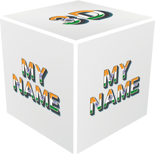 3D My Name India LWP