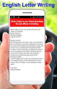 English letter writing apps on google play screenshot image spiritdancerdesigns Images