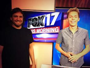 Photo: The Mins on FOX 17