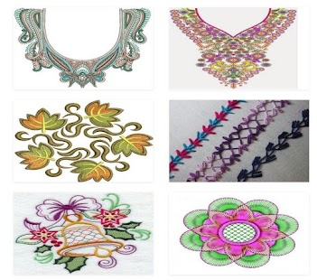 250 New Embroidery Design - náhled