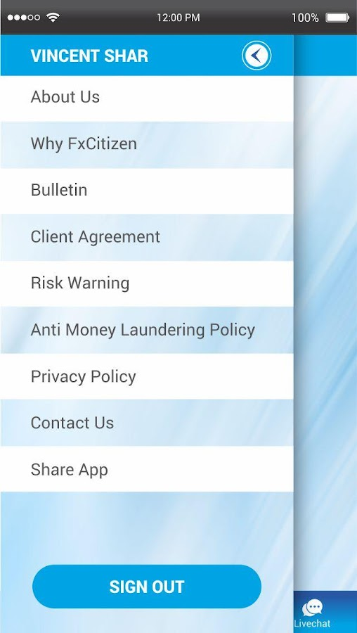 FxCitizen- screenshot