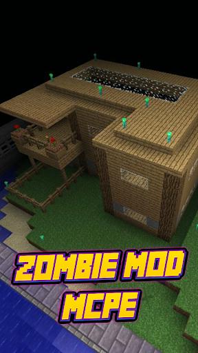 Zombie Mod For MCPE'