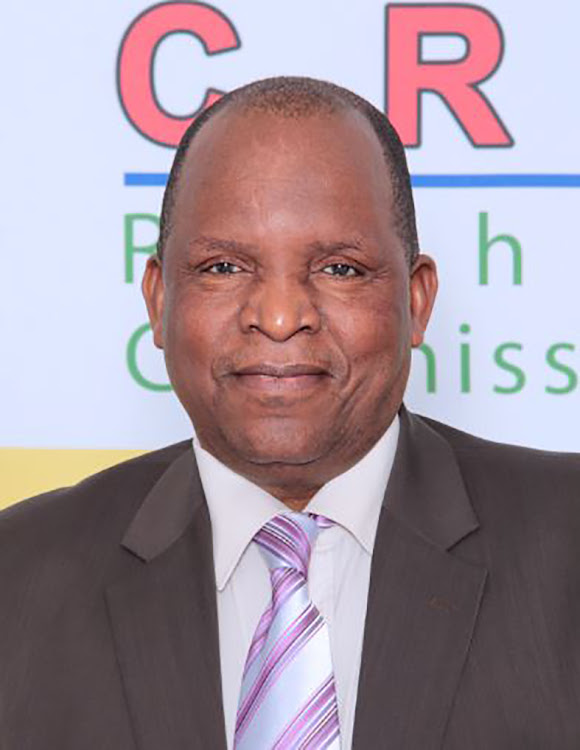 Prof Luka David Mosoma, chairperson of the CRL commission