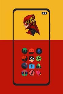 Supercons Dark – The Superhero Icon Pack (MOD, Paid) v2.0 3