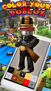 Download Roblox Pixel Art PRO - Color by Number & Oof Sound