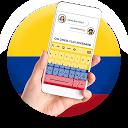 Colombia Flag Keyboard - Elegant Themes APK