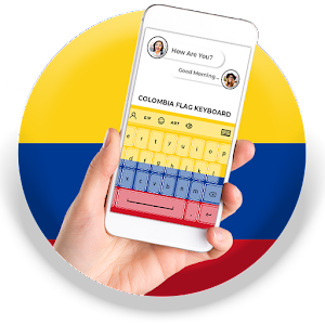 Colombia Flag Keyboard - Elegant Themes APK Download for Android