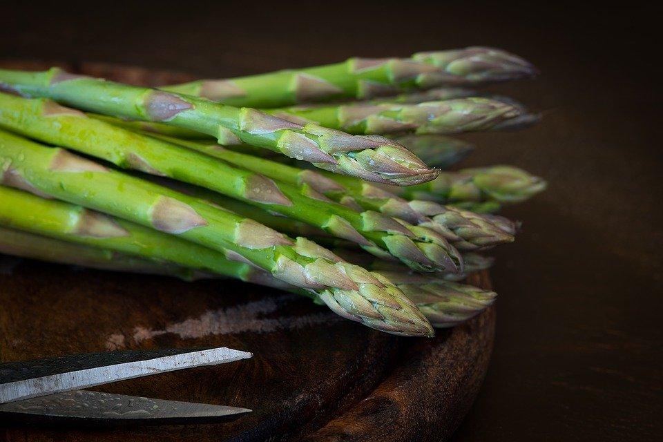 Asparagus, Green Asparagus, Green, Raw, Produce