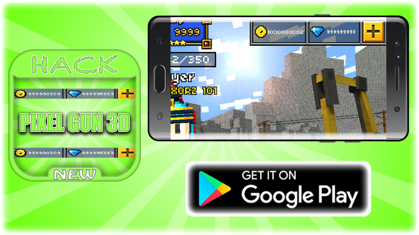 hack for pixel gun 3d game app joke prank android apps on hack for pixel gun 3d game app joke prank screenshot