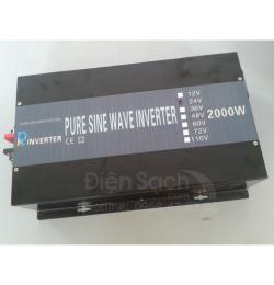Kích điện Sin chuẩn 24V 2000W Powertech