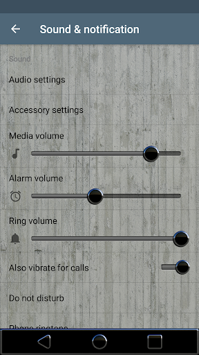 MOSCOW Xperia Theme blue gray app for Android screenshot