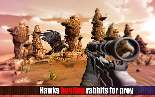 Eagle Hunting: Sniper Shooting
